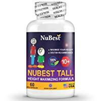 Maximum Natural Height Growth Formula - NuBest Tall 10+ - Herbal Peak Height Pills...