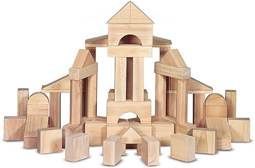 Melissa & Doug Standard Wooden Blocks