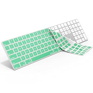 af806064061 Kuzy MINT GREEN Keyboard Cover for Apple Magic Keyboard with Numeric Keypad  Model: A1843 -
