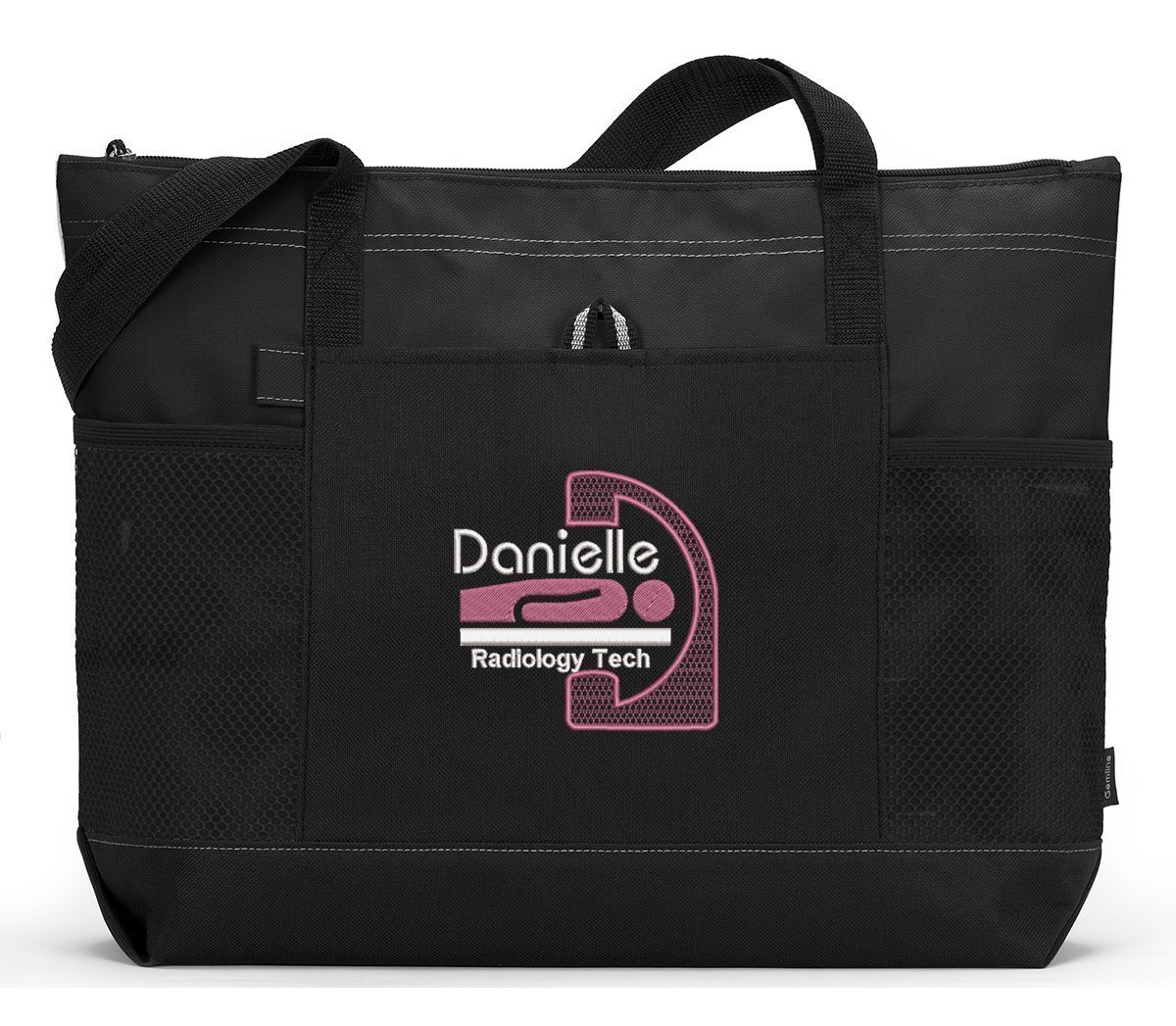 Radiology Tech Personalized Embroidered Tote Bag