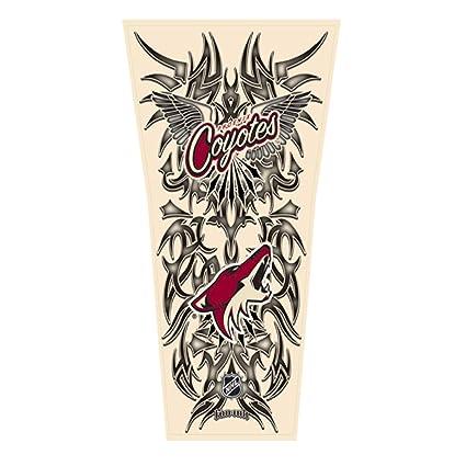 Amazon.com: NHL Phoenix Coyotes Tribal Manga del tatuaje ...
