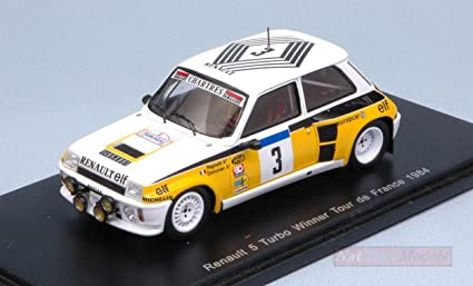 SPARK MODEL S3863 RENAULT 5 TURBO N3 TOUR DE FRANCE 1984 RAGNOTTI-THIMONIER 1: