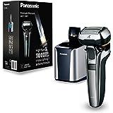 Panasonic 德国*剃须刀带佩戴方式3d - 剪头, 电动刮胡刀适用于男士, 湿 - / 干燥 - 剃须刀, 适应任何轮廓 银白色