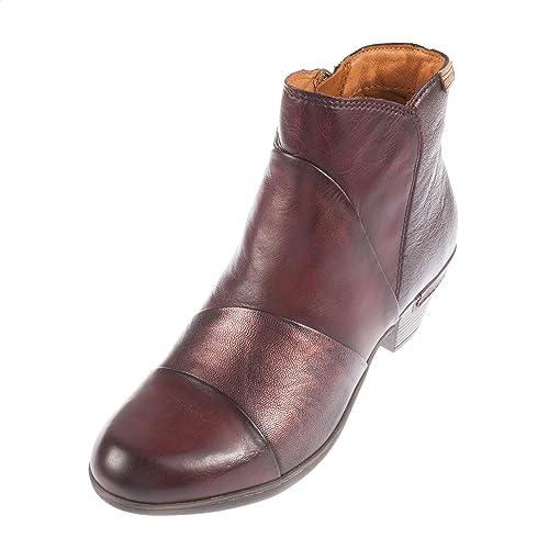 PikolinosRotterdam 902_i16 - Botines mujer , color rojo, talla 42 EU: Amazon.es: Zapatos y complementos