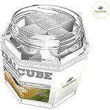 NatureHolic - MineralCube 'Pure Mineral' - 47ml - Mineralsteine für Garnelen, Schnecken & Krebse im Aquarium