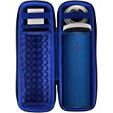 co2crea Hard Travel Case for Ultimate Ears UE MEGABOOM 3 Portable Bluetooth Wireless Speaker (Lagoon Blue case for Speaker an