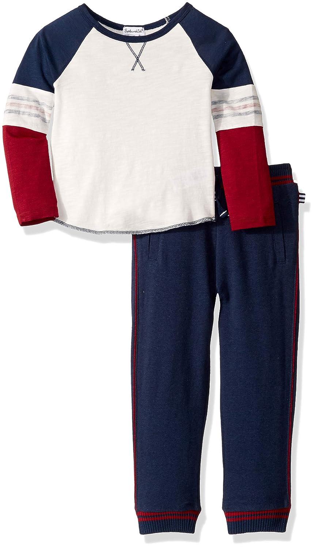 Splendid Toddler Boys Long Sleeve Pant Set