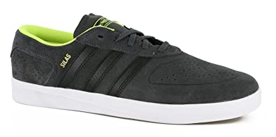 970f1b8ec1 Amazon.com  Adidas Silas Vulc ADV Skate Shoe Grey Neon  Shoes