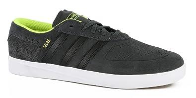 200165b309 Amazon.com  Adidas Silas Vulc ADV Skate Shoe Grey Neon  Shoes