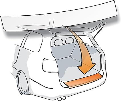 Passform Lackschutzfolie Als Selbstklebender Ladekantenschutz Autofolie Und Schutzfolie Transparent 150µm Passgenau Für Fahrzeugtyp Siehe Beschreibung Auto