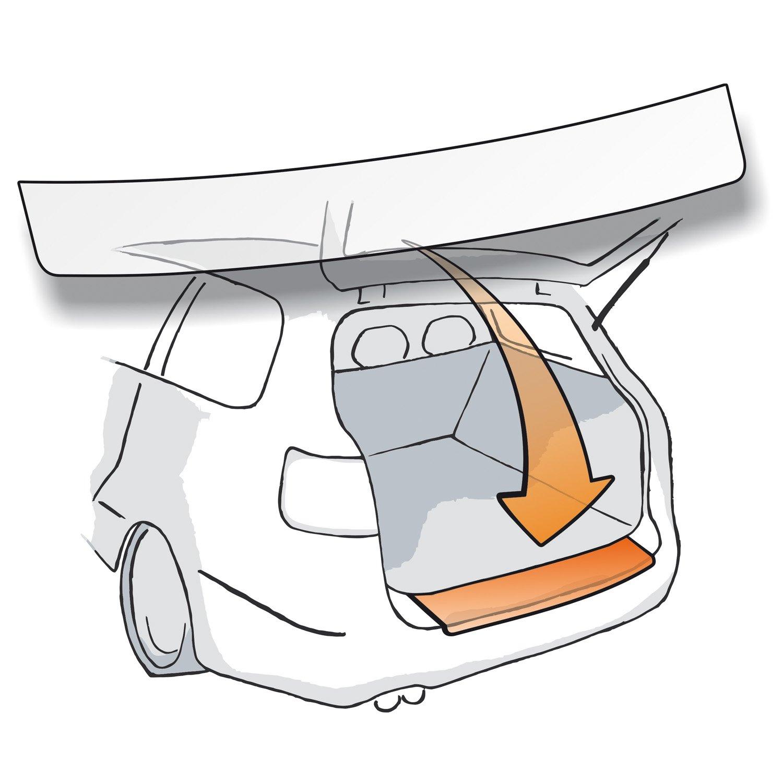Passform Lackschutzfolie fü r Seat Arona als Selbstklebender Ladekantenschutz (Autofolie und Schutzfolie) transparent 150µ m - passgenau fü r Fahrzeugtyp Siehe Beschreibung Lackschutzshop