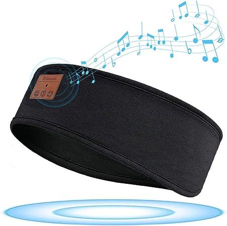 Geekerchip Schlafkopfhörer Bluetooth Schlaf Kopfhörer Mit Ultradünnen Hd Stereo Lautsprecher Personalisierte Geschenke Für Sport Seitenschläfer Usw Sport Freizeit