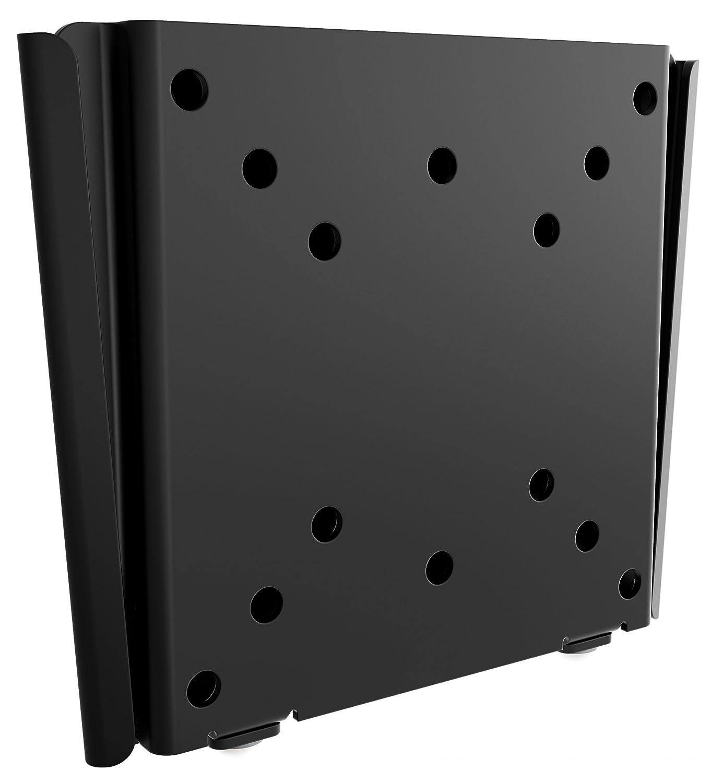 'Ricoo monitorhalterung Monitor Pared Fijo f0311universal LCD TV TFT plano pared soporte Curved PC Ordenador de la pantalla soporte de pared para 38–76cm/13