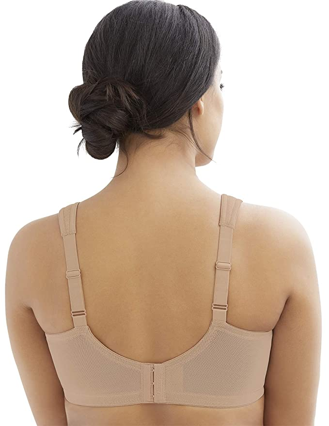 55755c41ebea78 Glamorise Women's Full Figure MagicLift Moisture Control Wirefree Bra #  1064 at Amazon Women's Clothing store: