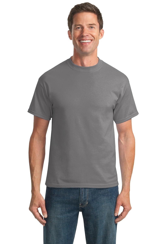 Amazon.com  Port   Company Men s Tall 50 50 Cotton Poly T Shirts  Clothing 07762e3f85d