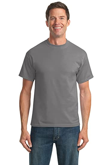 088619c36b2 Amazon.com  Port   Company Men's Tall 50 50 Cotton Poly T Shirts ...