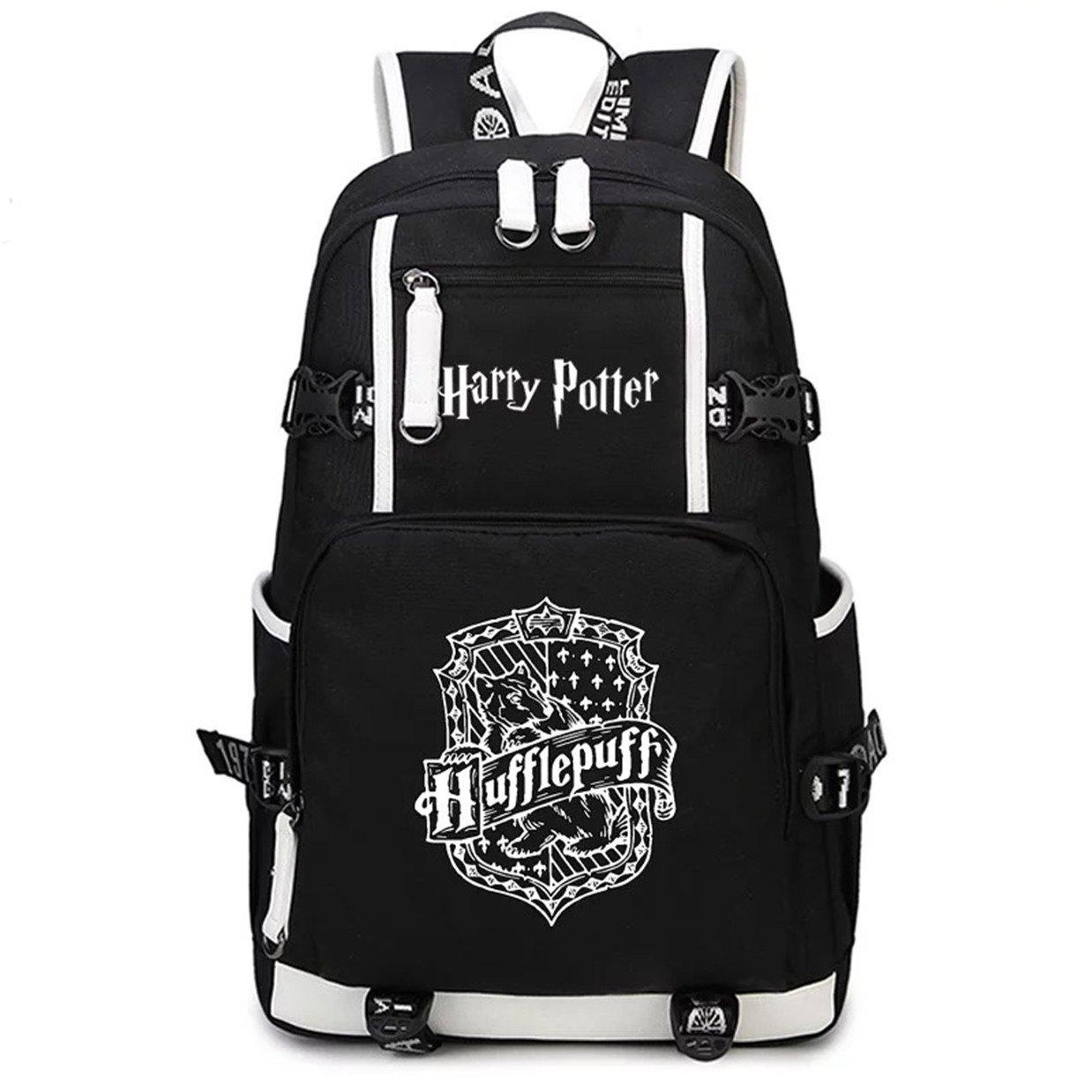AUGYUESS Mochila de Lona para la Escuela, Mochila para Ordenador Portátil, Mochila para Harry Potter Cosplay: Amazon.es: Hogar