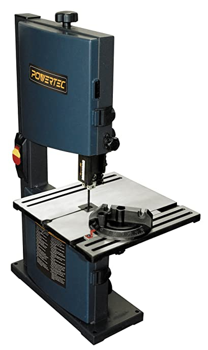 band saw. powertec bs900 band saw, 9-inch saw