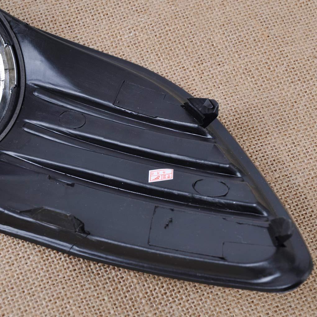 Destra Lato 1 Paio Car Foglight griglia di Copertura 8M51-19951-AE//Sostituzione 8M51-19952-AE per Ford Focus 09-11 Demino Sinistra