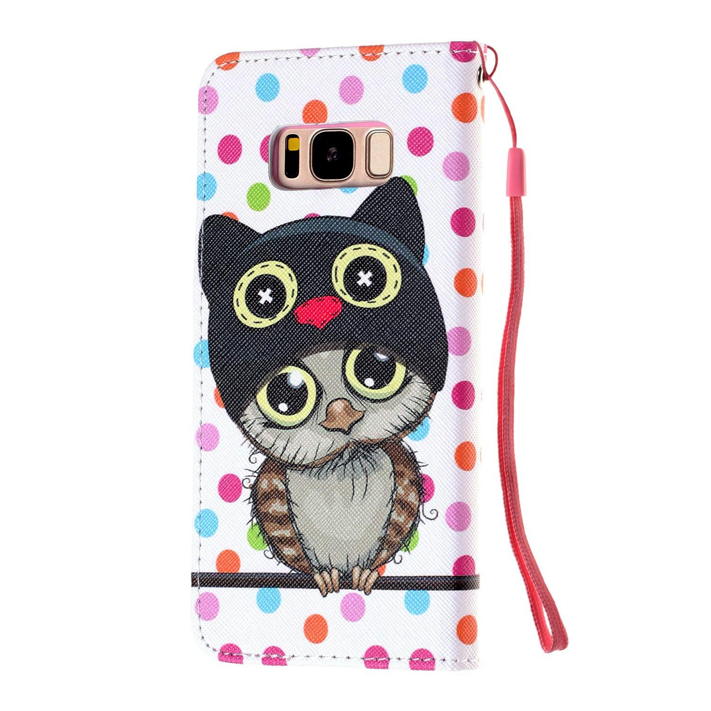 1 X Stylus Pen, Ysimee H/ülle kompatibel mit Samsung Galaxy S8 Plus Bookstyle Leder Tasche Handyh/ülle Flip klapph/ülle Standfunktion Card Holder Schutzh/ülle Tasche Schlanke Leder Brieftasche