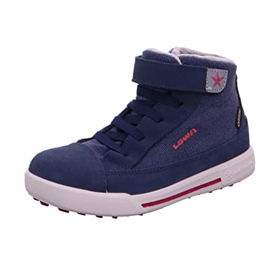 Lowa Girls' 640615 6751 Boots blue DUNKELBLAU/BEERE