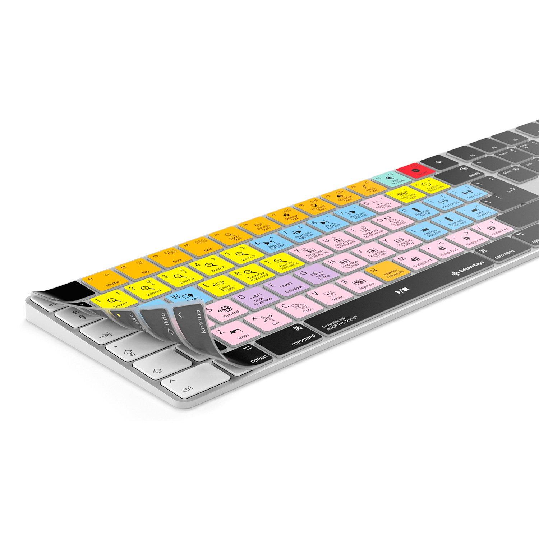 Fits tastiera Apple Magic wireless con numerico Pad Edit pi/ù veloce Avid Pro Tools della tastiera