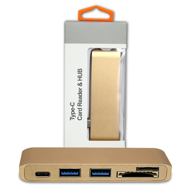 Ultimaxx USB 3.0 TYPE-C HUB-GO