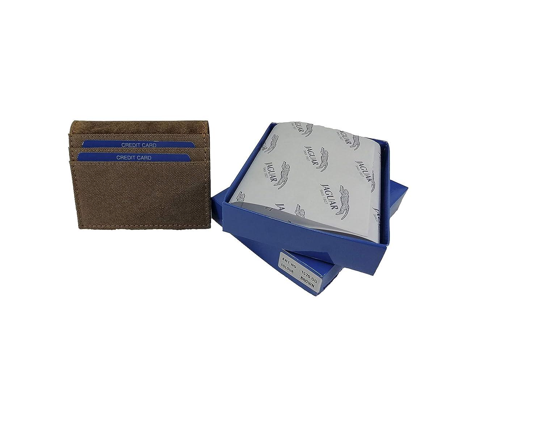 363637dae Azul Cartera de Caballero Fabricada en Piel y Lona colección Oregón  Mod.1570 OG JAGUAR