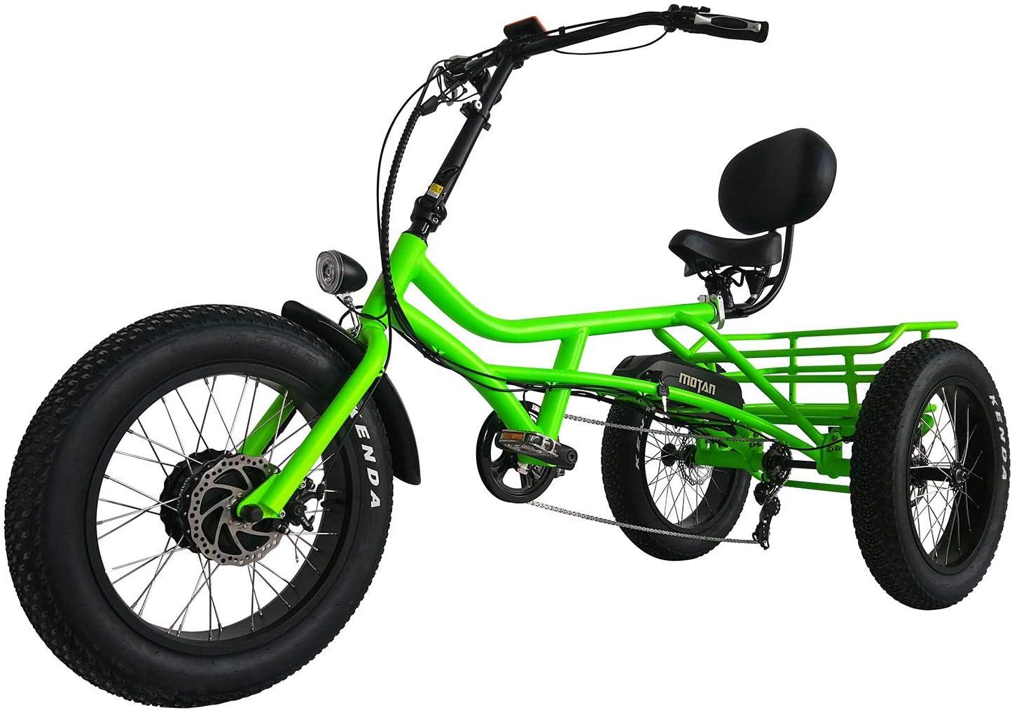Addmotor Triciclo Eléctrico Tres Ruedas 750W Triciclo Eléctrico 20