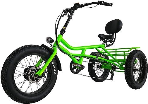 Addmotor Triciclo Eléctrico Tres Ruedas 750W Triciclo Eléctrico 20 ...
