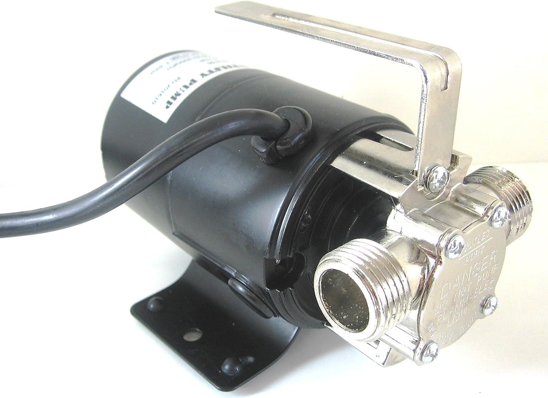 Draining a pond - External Pump
