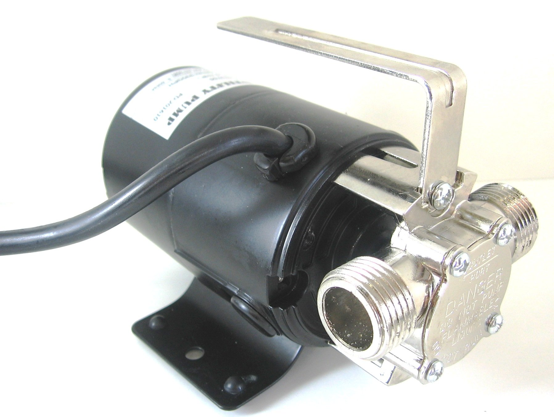 Portable Water Transfer Utility Pump 330 GPH, 115-Volt with Metal Connectors that are Standard 3/4'' Garden Hose by Maresh Products