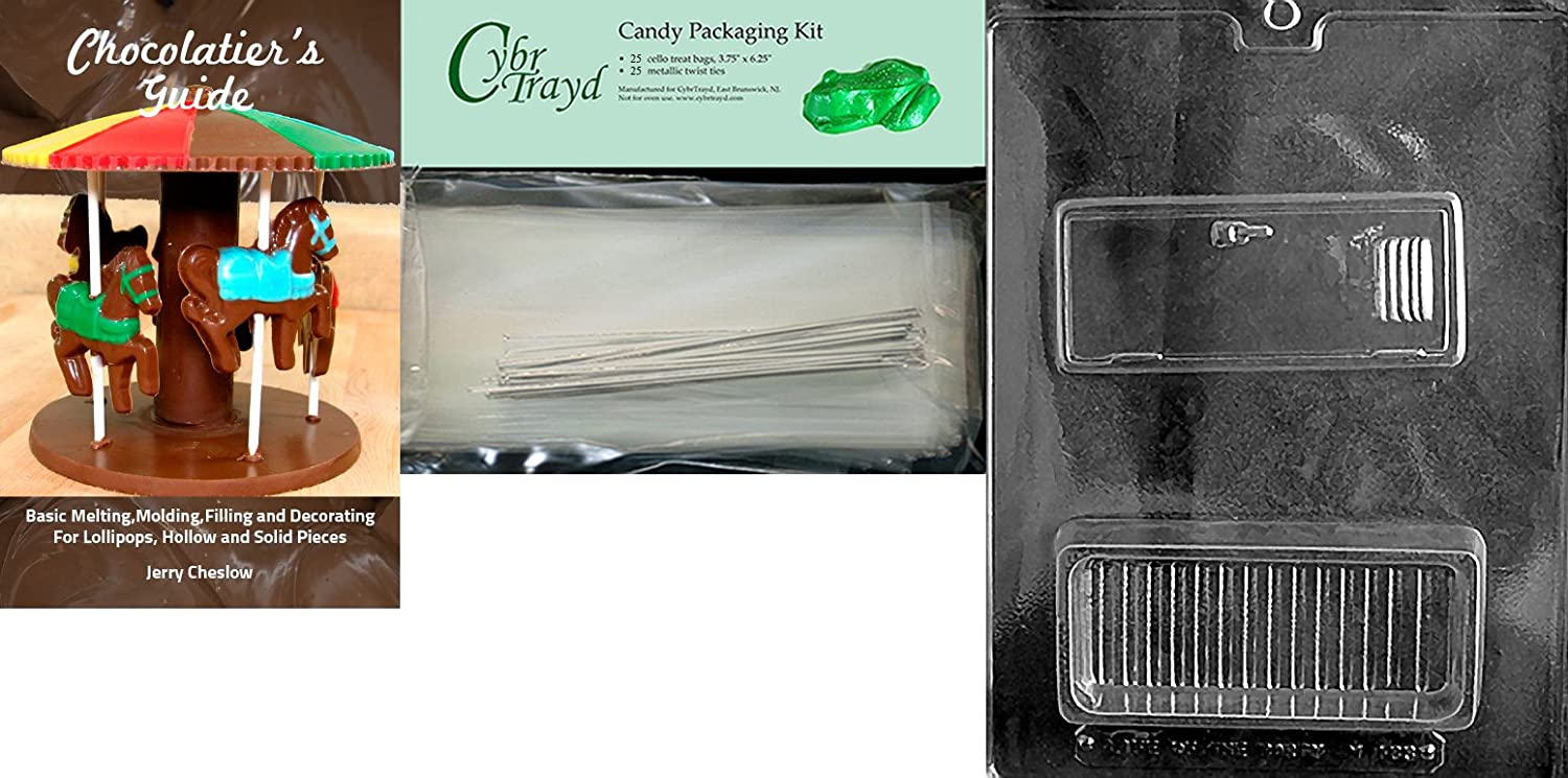 Cybrtrayd M183 Locker Pour Box Miscellaneous Chocolate Candy Mold