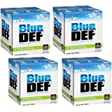 BlueDEF Diesel Exhaust Fluid Synthetic Urea Deionized Water 2.5 Gallon (4 Pack)