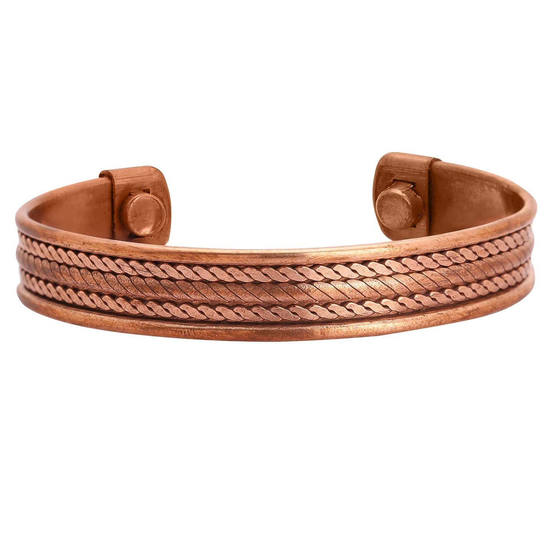 iCraftJewel Bracelet Bangle Set of 4 Pcs Bio Pain Therapy Healing Cufflinks Jewelry Gift Item