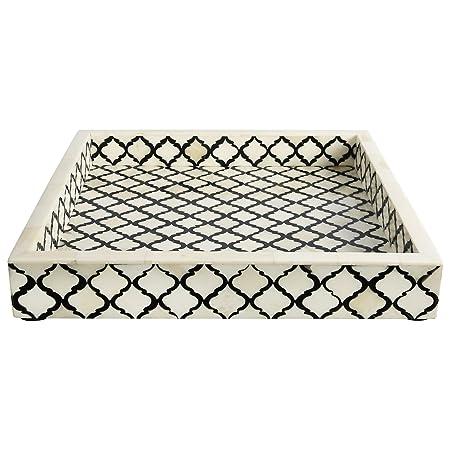 Decorative Tray Platters Breakfast Coffee Table Top Moorish