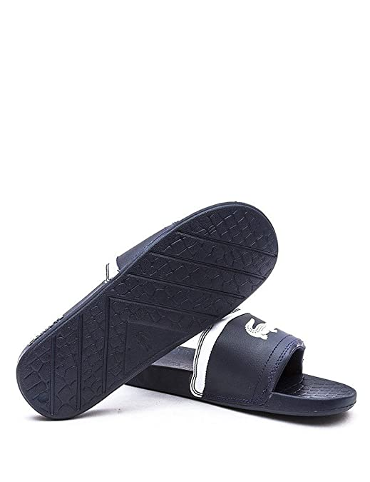3fe98bb547722e ... Lacoste Men s Frasier Brd1 Open Back Slippers Amazon.co.uk Shoes Bags  new ...