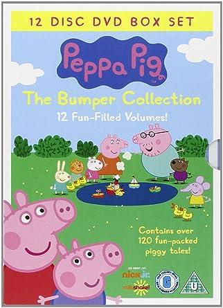 Peppa Pig Bumper Pack 12 Disc (Vol 1-12) [DVD]