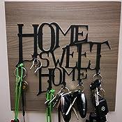Pannello appendi chiavi home sweet home for 3 stelle arreda