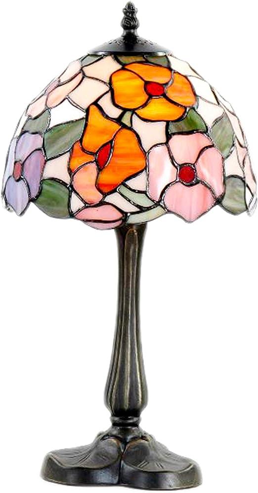 Lámpara de sobremesa, estilo Tiffany, 20 cm: Amazon.es: Iluminación