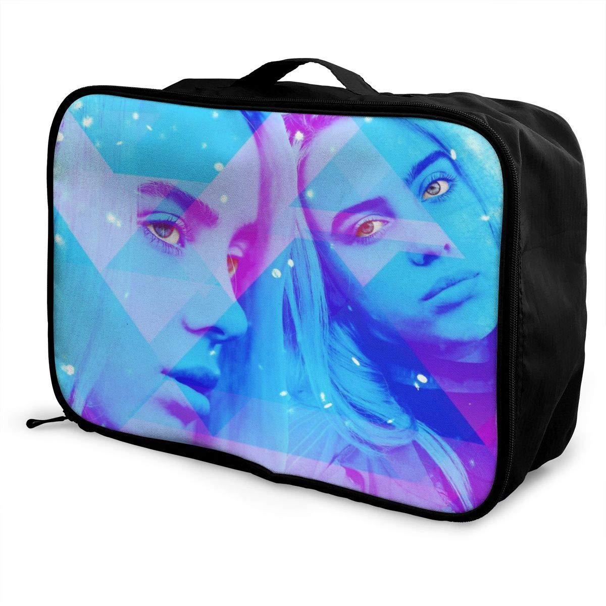 Billie-Eilish/_Getty/_Ringer Lightweight Large Capacity Portable Luggage Bag Travel Foldable Duffel Bag Women Men