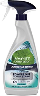 product image for Seventh Generation Natural Laundry Stain Remover, Free & Clear, 16 oz Spray Bottle