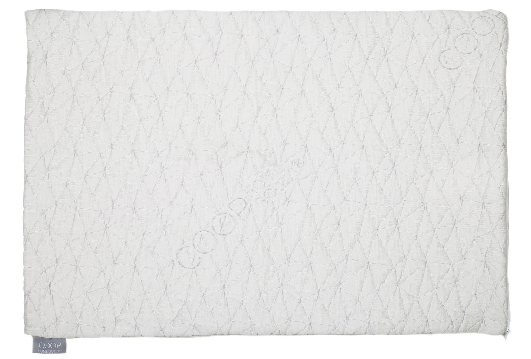 Coop Home Goods - Single QUEEN Removable Pillowcase - Bamboo Derived Viscose and Polyester Blend with Zipper Closure - Made in USA