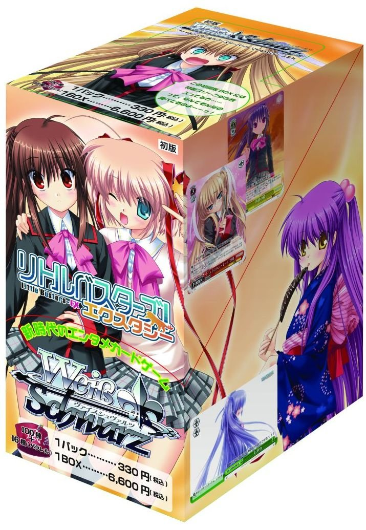 Weiss Schwarz Booster Pack Little Busters! Ecstasy (Anime Toy) (japan import): Amazon.es: Juguetes y juegos