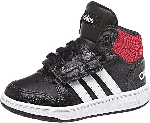 sneakers fille hoops 2.0 mid adidas