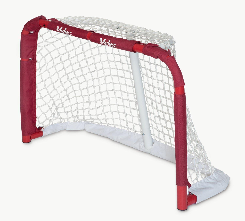 amazon com mylec pro style mini steel hockey goal red hockey