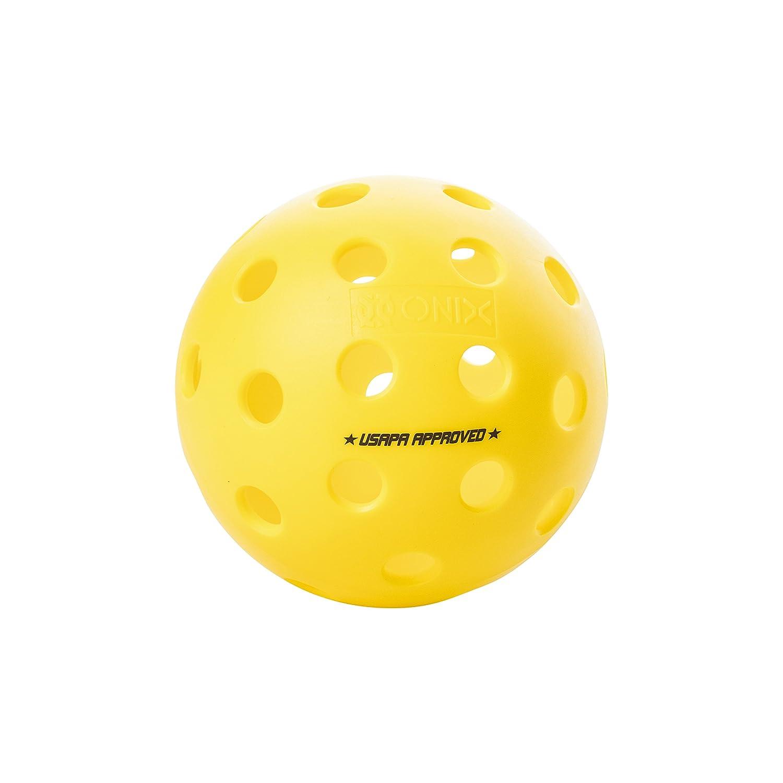 ONIX Fuse Outdoor Pickleball Balls – Six Pack ESCALADE SPORTS - DROPSHIP KZ41006Y