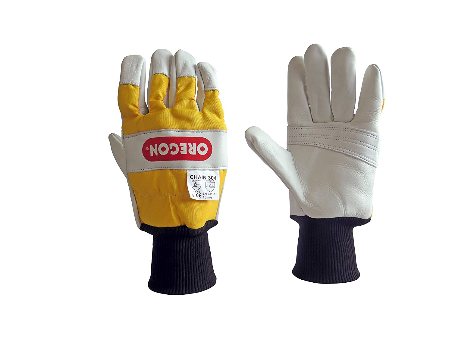Oregon 295399M Chainsaw Protective Gloves