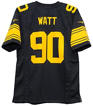 purchase cheap 31613 8d69d Nike TJ Watt Pittsburgh Steelers Youth Color Rush Game Jersey