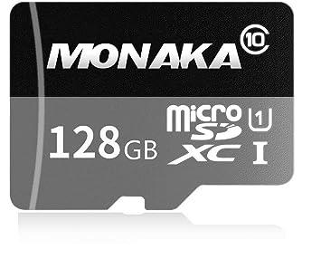 Tarjeta de Memoria Flash de 128 GB Micro SD SDXC Clase 10 ...